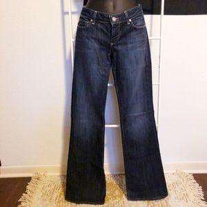 Paige Laurel Canyon low rise bootcut denim jeans